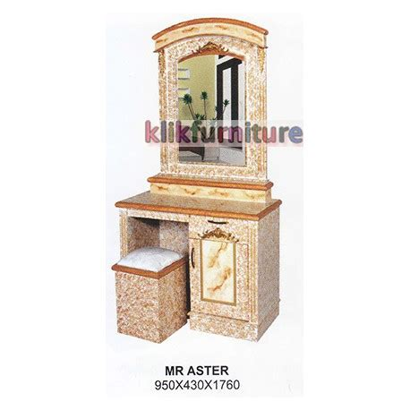 Meja Rias Bigland harga meja rias kayu aster cms distributor furniture