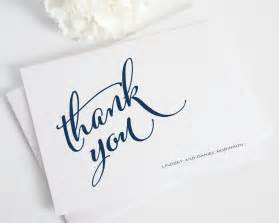 modern script thank you cards thank you cards by shine