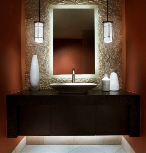 Bathroom Vanity Light Ideas Led Backlit Mirrors Ideas Pictures Remodel And Decor