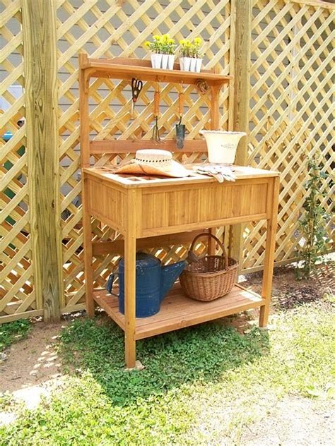 Backyard Discovery Potting Bench Potting Bench Fence Potting Garden Benches