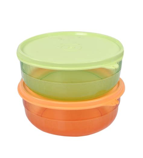 Tupperware Small Crispy Storer 2pcs tupperware deluxe serving bowls 400 ml 2 pcs by tupperware airtight storage kitchen