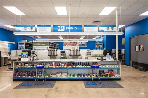 paint places facelift ppg paints gives stores new look nest august