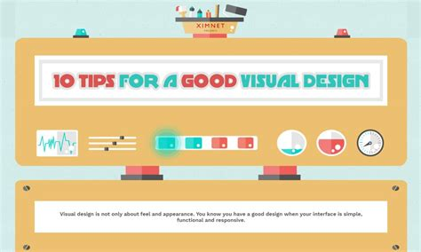 10 tips for designing a 10 tips for a good visual design