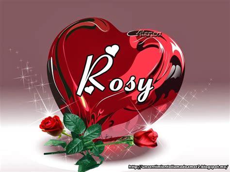 imagenes te quiero rosy un sentimiento llamado amor corazones rojos con rosas