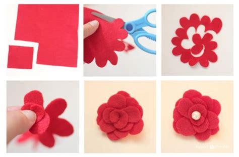 tutorial bunga flanel simple bros bunga dari kain flanel tutorial lain lain
