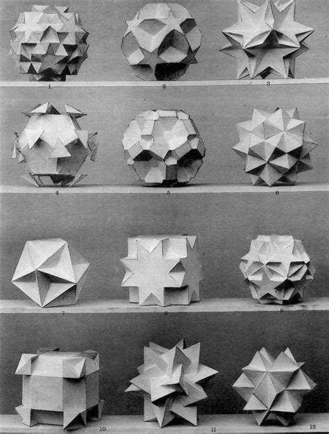 Science Origami - origami science faces math mathematics geometry 1900s