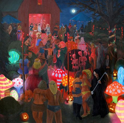 halloween images party halloween party 171 paintings 171 brandon wilkinson
