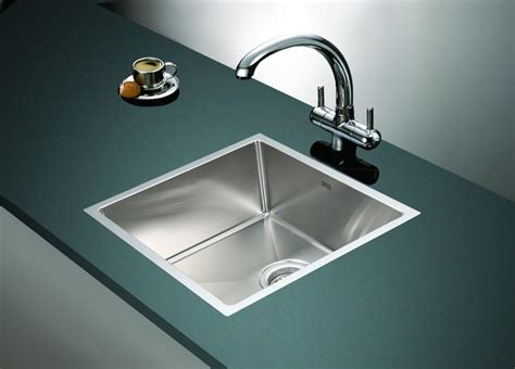 Stainless Steel Laundry Room Sinks 490x440mm Handmade Stainless Steel Undermount Topmount Kitchen Laundry Sink With Waste