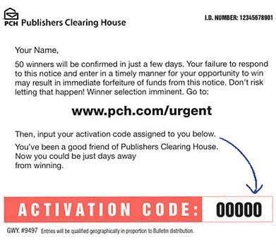 Pch Come - www pch com urgent pch urgent activation code