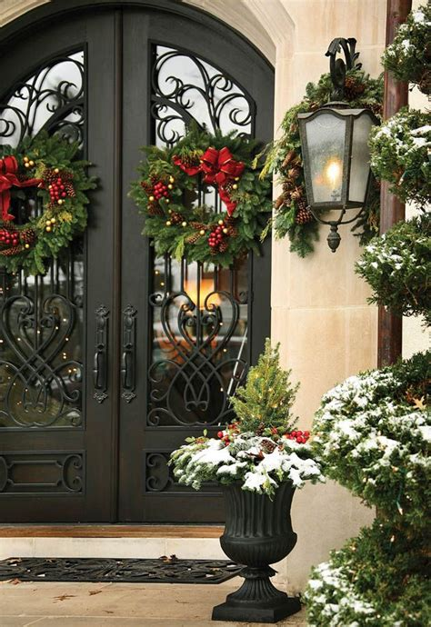 christmas decorations for double front doors images
