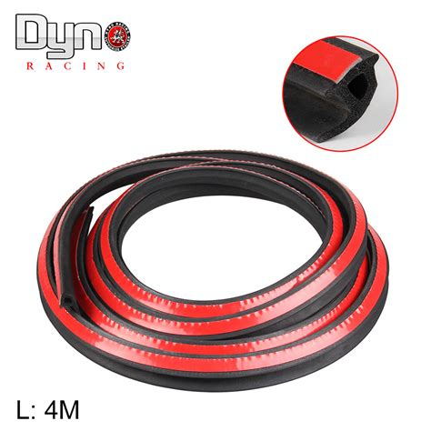 Car Gasket Types by 4 Meter P Type Car Motor Door Seal Weatherstrip