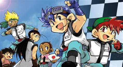 anime lets and go bakusou kyoudai let 180 s go image 160671 zerochan