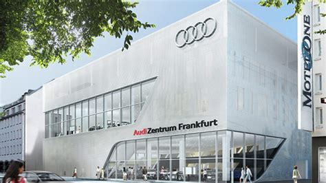 Autohaus Audi Frankfurt by Richtfest F 252 R Neuen Audi Leuchtturm In Frankfurt Autohaus De