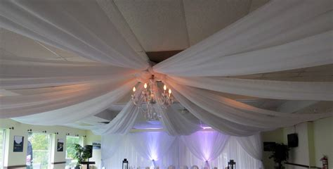 ceiling drapes for rent wedding ceiling draping rental photos