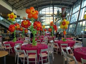 Tropical Theme Decor - dreamark events blog hawaii themed holiday corporate event