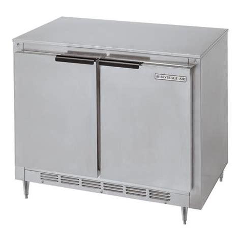 34 inch door refrigerator beverage air ucr34y 34in 2 door undercounter