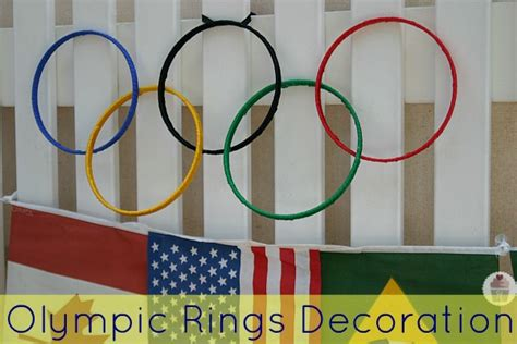 Olympic Decorations by Olympic Rings Decoration Hoosier