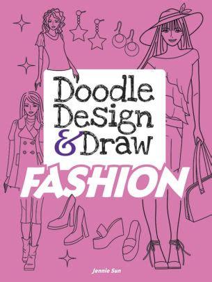 doodle club for nook doodle design draw fashion by jennie sun paperback