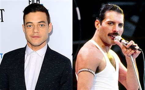 actor queen queen movie bohemian rhapsody casts rami malek as freddie