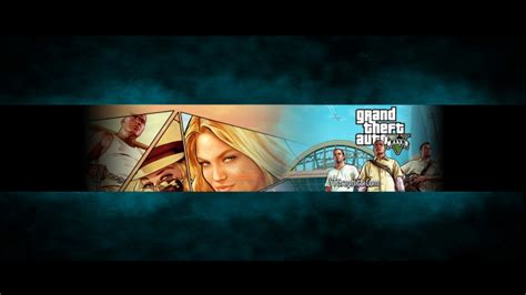 Auto Bild Youtube Channel by Gta 5 Channel Art Banner Youtube Channel Art Banners