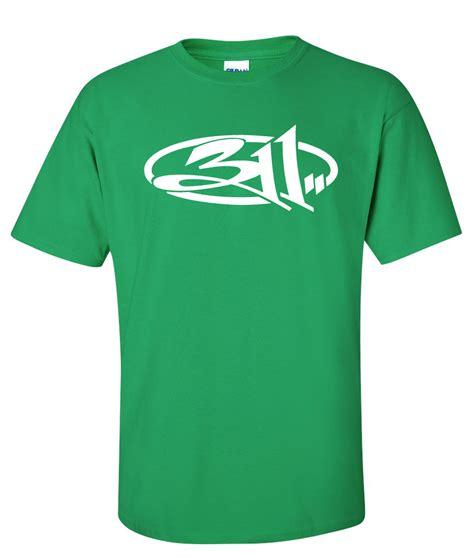 Kaos Band 311 Tshirt Musik Rock 8 311 rock band nick hexum logo graphic t shirt