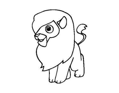 imagenes de leones para colorear image gallery leon dibujo
