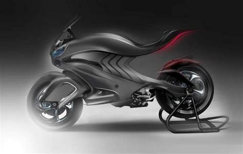 mercedes motorcycle mercedes 2030 conceptual motorbike