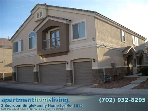 2 bedroom single family homes for rent 2 bedroom sun city aliante homes for rent north las