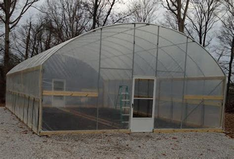 20 X 20 Ft High Sidewall Greenhouse High Tunnel Kit