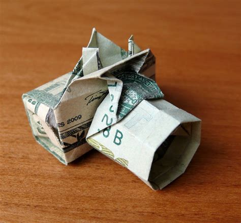 20 Dollar Origami - 20 dollar bill by craigfoldsfives on deviantart