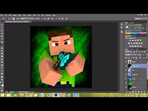 minecraft profile picture template free minecraft profile template 1 speedart 5 releasing the