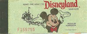 World Admission Question How Much Do Disneyland Tickets Sell For