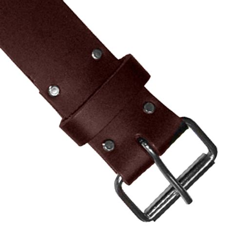 Quicksilver Edges Brown Leather 2 cutting edge ceotb2 cutting edge 2 quot leather belt brown