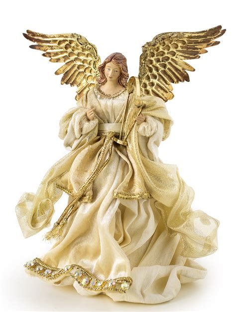 gold angel tree topper balsam hill australia