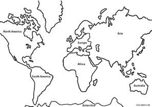 world map coloring page printable world map coloring page for cool2bkids