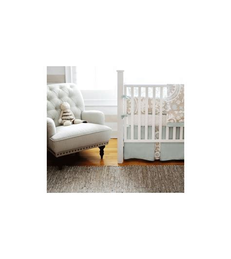 Crib Fence by New Arrivals Picket Fence 3 Baby Crib Bedding Set