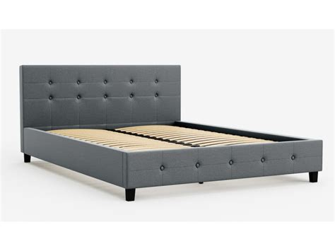 Affordable Size Bed Frames by Size Fabric Bed Frame Henrik Collection Grey