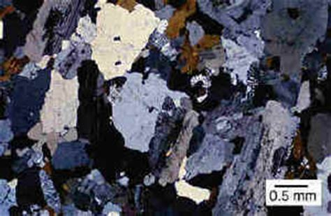 igneous rocks thin section igneous