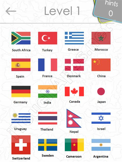 flags of the world quiz questions world flags quiz answers iphone
