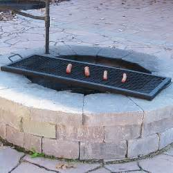 pit grill insert improbable pit grill grates garden landscape