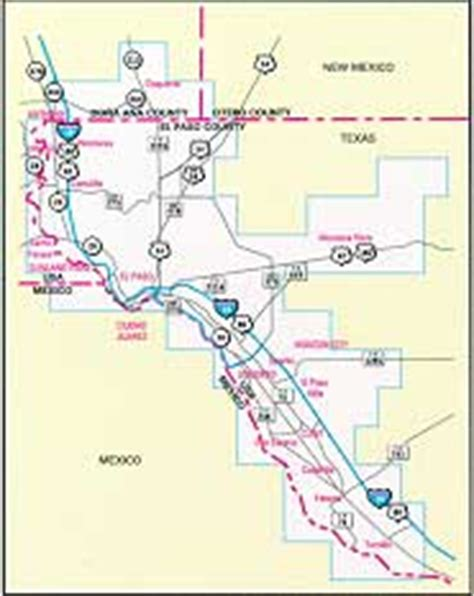 el paso texas zip code map el paso guide by mapsco
