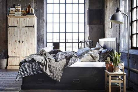 industrial chic schlafzimmer get ready to fall in with fjell bedroom series it s