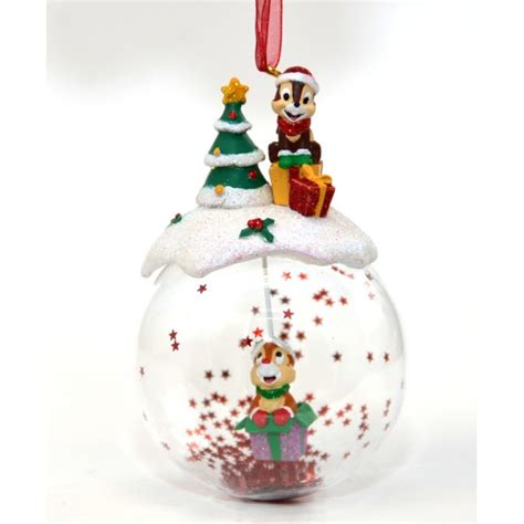 disney chip and dale bauble ornament