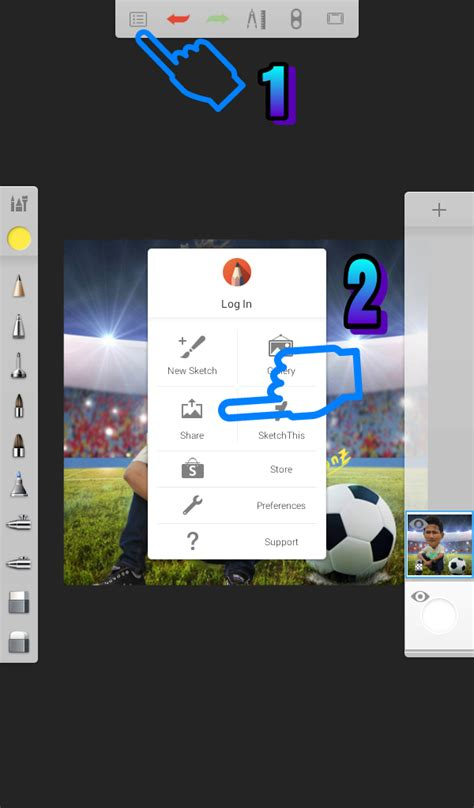 tutorial edit foto karikatur cara edit foto jadi karikatur di picsay pro android