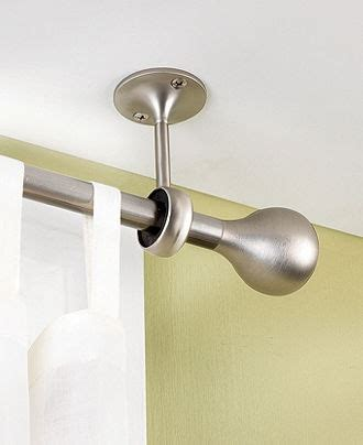 attach curtain rod to ceiling hang em high gt gt gt curtains