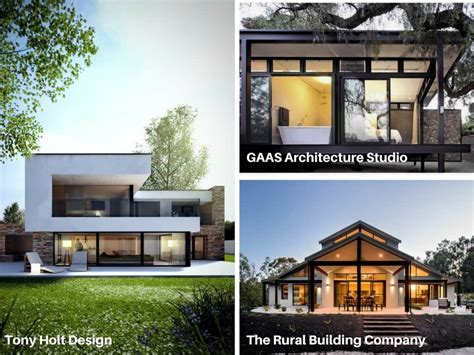 modern house design in the country vs grid