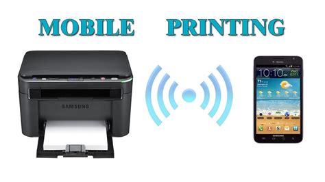 mobile printing samsung mobile print