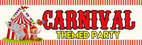 How To Do Home Decoration by Carnival Themed Birthday Party Package
