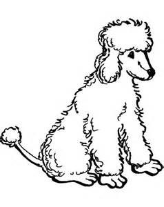 poodle coloring pages poodle coloring pages