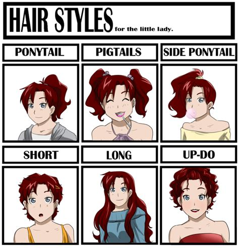 Meme Hairstyles - hair style meme by bitter cherry on deviantart